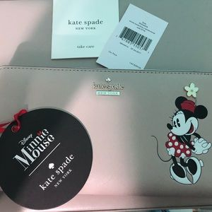 Kate Spade Minnie Mouse Lacey Wallet